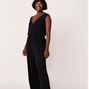 Long crossover jumpsuit, Relaxation outfit, soft, beautiful, pretty and feminine